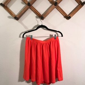 Old Navy | Like new circle skirt coral sz …